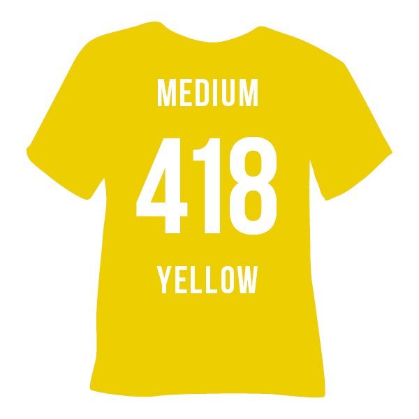 418 MEDIUM YELLOW