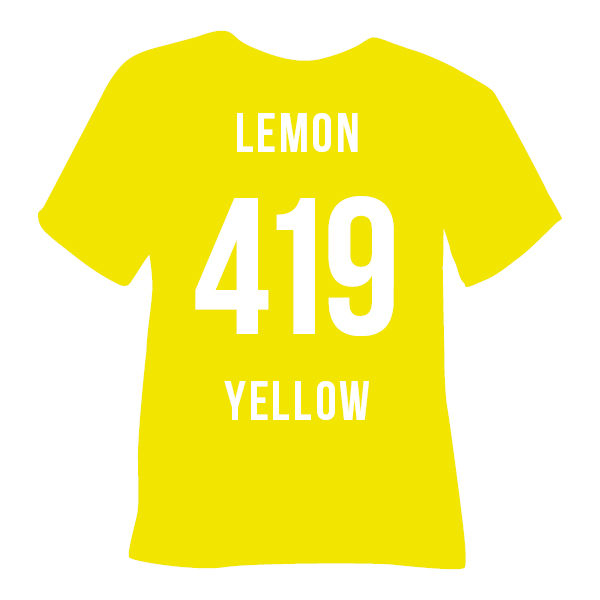 419 LEMON YELLOW